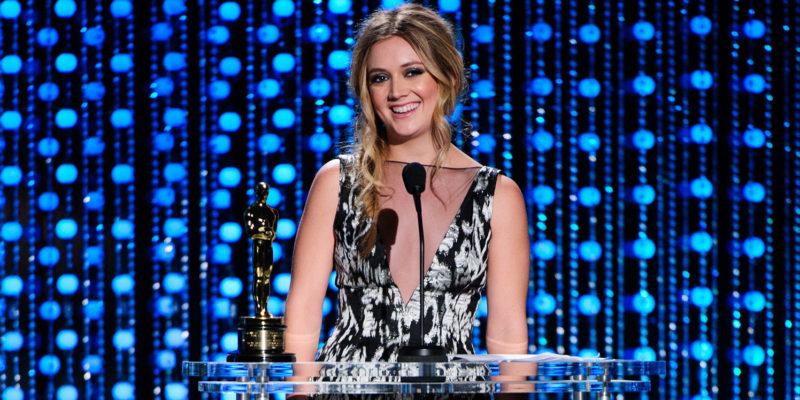 Билли Лурд принимает премию имени Джина Хершолта для актрисы Дебби Рейнольдс