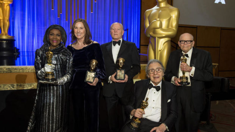 Получатели Governors Awards-2018 в баре Ray Dolby